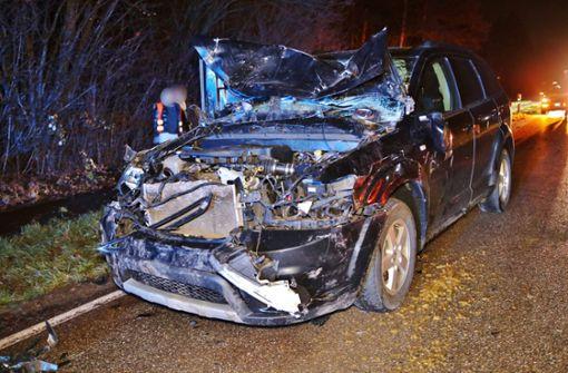 Drei Pferde nach Unfall mit Auto getötet