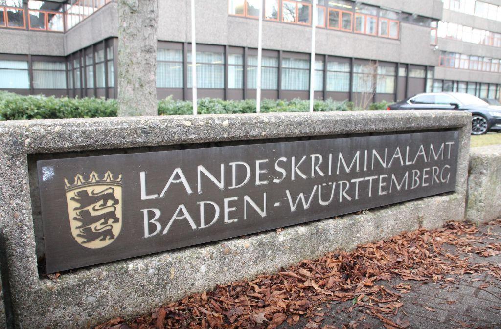 Hier wird genauso gemauert wie bei der Staatsanwaltschaft: das LKA in Stuttgart Foto: 7aktuell.de/Jens Pusch