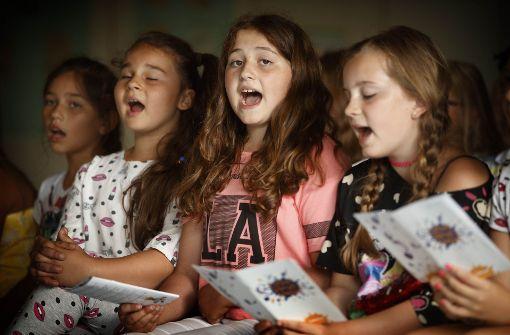 Eine ganze Schule singt
