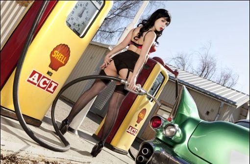 Das Fräulein von der Tankstelle