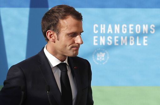 Französischer Präsident kündigt Rede an die Nation an