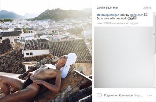 Stefanie Giesinger und Co. – Heiße Bilder auf Instagram