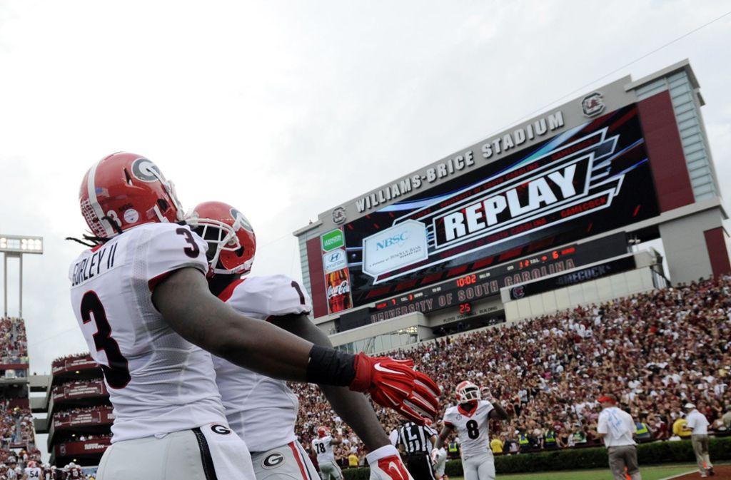 College-Football fasziniert in den USA die Massen. Foto: AP
