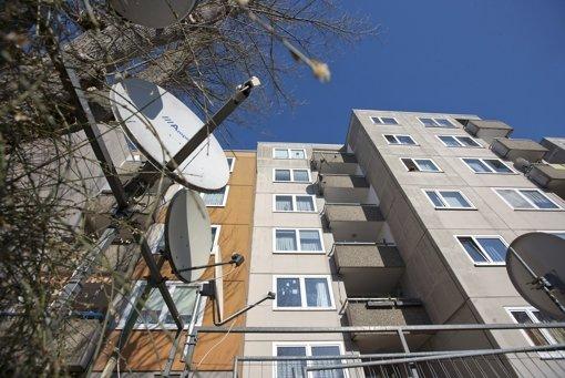 Haussanierungen in Hallschlag  treiben die Mieten  nach oben Foto: Michael Steinert