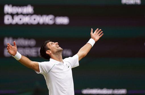 Novak Djokovic auf dem Weg zur Unsterblichkeit