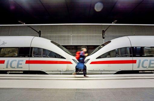 Deutsche Bahn  mit Wachstumsschmerzen