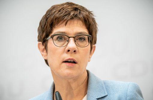 Kramp-Karrenbauer will mehr Frauen in CDU-Ämtern sehen