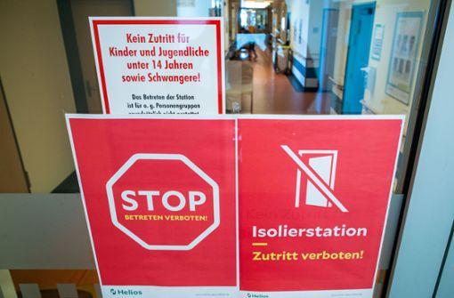 Gesundheitsministerium rechnet mit Höhepunkt  für  Krankenhäuser an Ostern