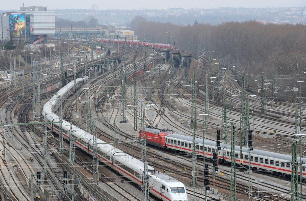 Das Verwaltungsgericht hat seine Entscheidung zum Rückbau des Gleisvorfelds verkündet. Foto: dpa