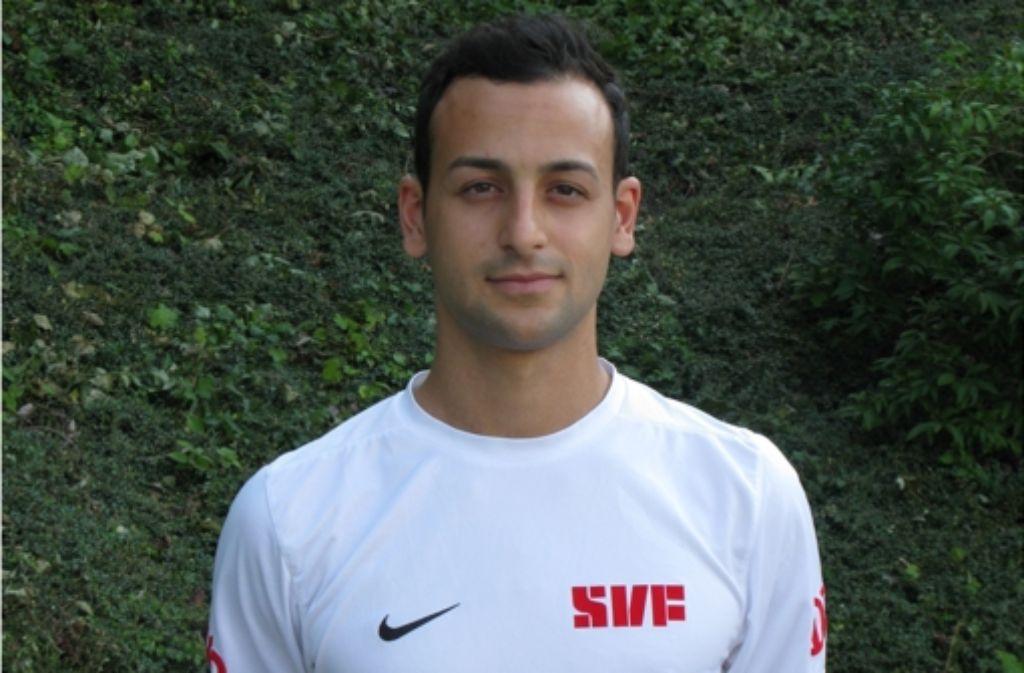 Giuseppe Saltarelli, zweifacher Torschütze des SV Fellbach Foto: Robin Laure