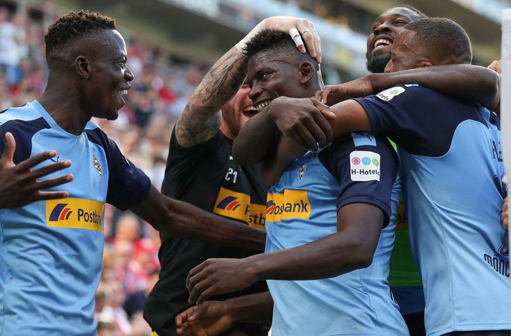 Borussia Mönchengladbach trifft in der Europa League unter anderem auf AS Rom. Foto: Bongarts/Getty Images