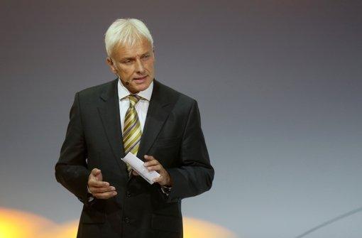 Porsche-Chef Matthias Müller ist der Favorit bei VW