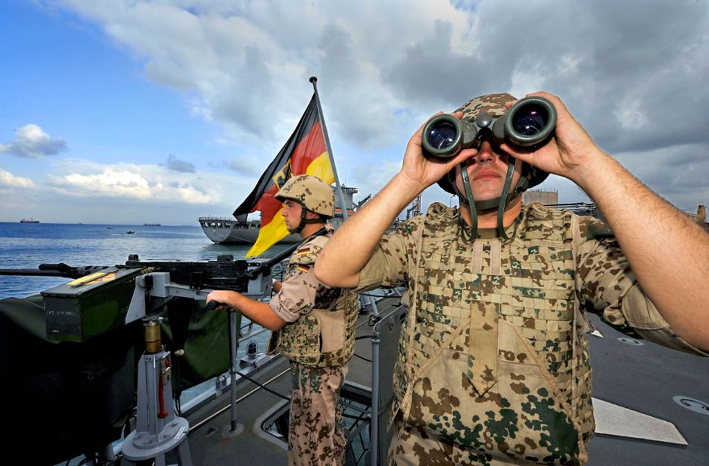 Das war bei einer Marinemission gegen Piraterie am Horn von Afrika. Jetzt sind deutsche Schiffe für die Golfregion angefragt. Foto: dpa