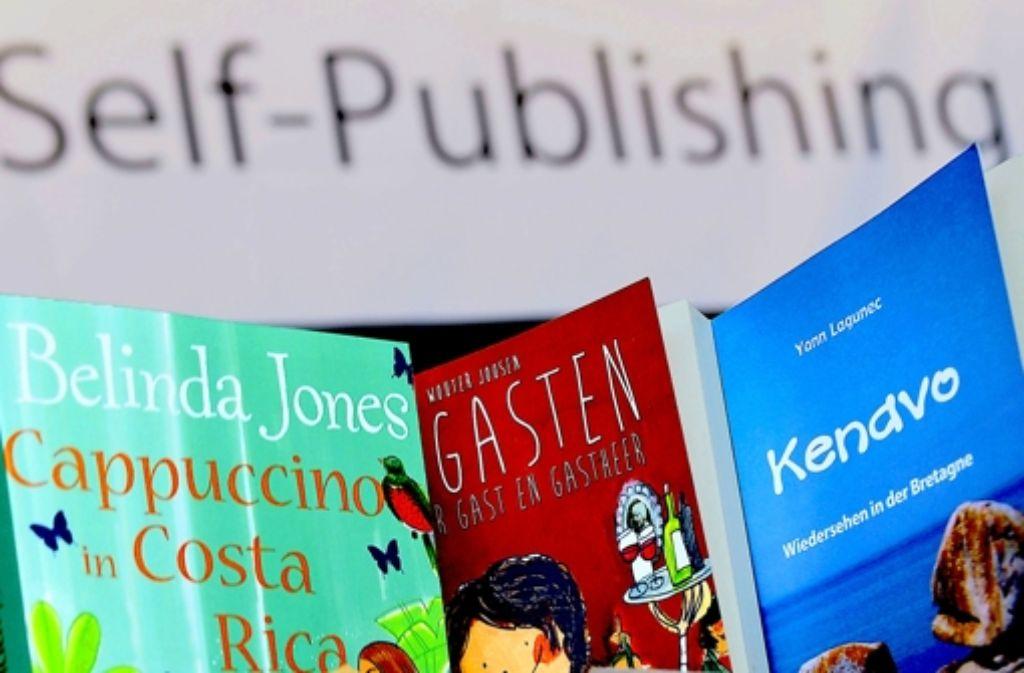 Jedes fünfte in Deutschland erscheinende Buch entsteht im Selbstverlag. Foto: