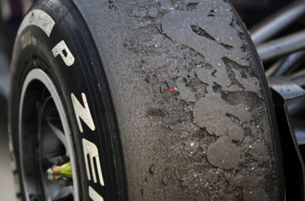 Mercedes steht wegen eines Reifentests vor dem Internationalen Tribunal des Automobil-Weltverbands FIA. Foto: dpa