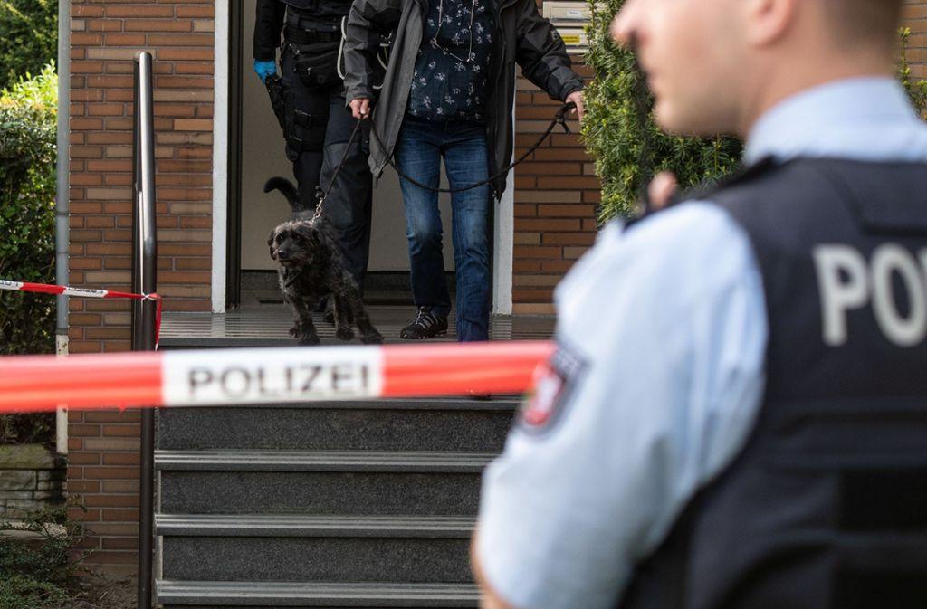 Ein SEK-Beamter wurde bei einer Wohnungsdurchsuchung in Gelsenkirchen erschossen. Foto: dpa/Bernd Thissen