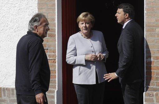 Erdbeben überschattet Besuch bei Renzi