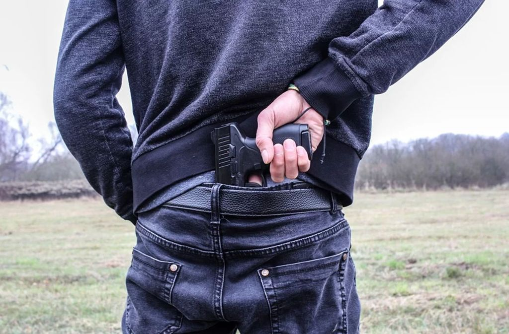 Der Mann forderte mit vorgehaltener Waffe das Geld aus der Kasse. Foto: pixabay/un-perfekt