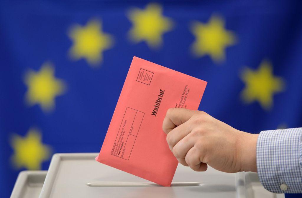 Am 26. Mai sind die deutschen Wähler aufgerufen, eine neues EU-Parlament zu wählen. Foto: dpa