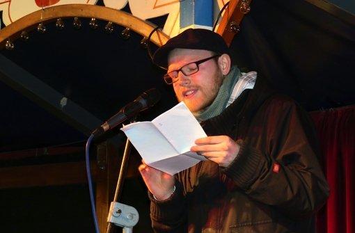 Dichterschlacht im Theaterzelt