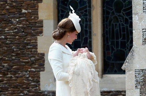Prinzessin Charlotte Ton in Ton mit Mama