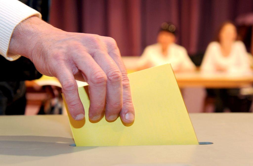 In Crailsheim, Bretten und Leinfelden-Echterdingen waren am Sonntag Oberbürgermeisterwahlen. (Symbolfoto) Foto: dpa