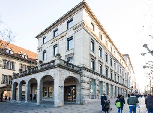 Tradition in Stuttgart: Die Commerzbank gibt es bereits seit über 110 Jahren.