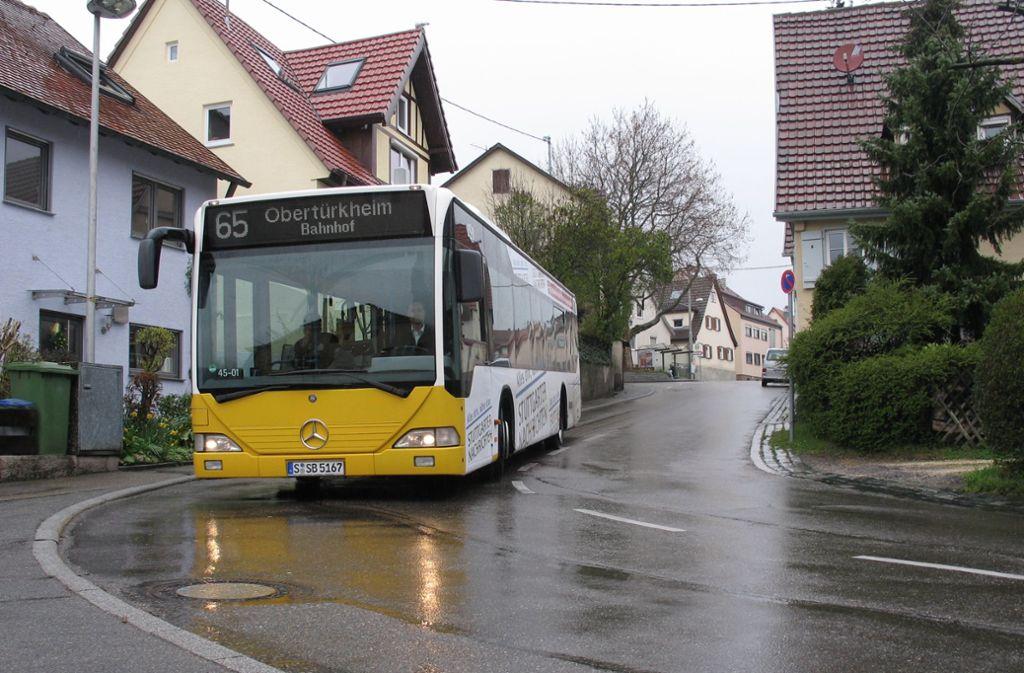 Der Unfall mit einem SSB-Bus hat sich in der Mannsperger Straße abgespielt, hier ein Archivfoto. Foto: Judith S/ägesser