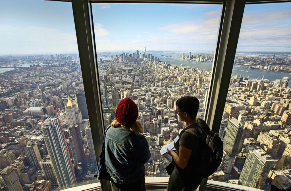 empire state building new yorker ausblicke panorama stuttgarter zeitung. Black Bedroom Furniture Sets. Home Design Ideas