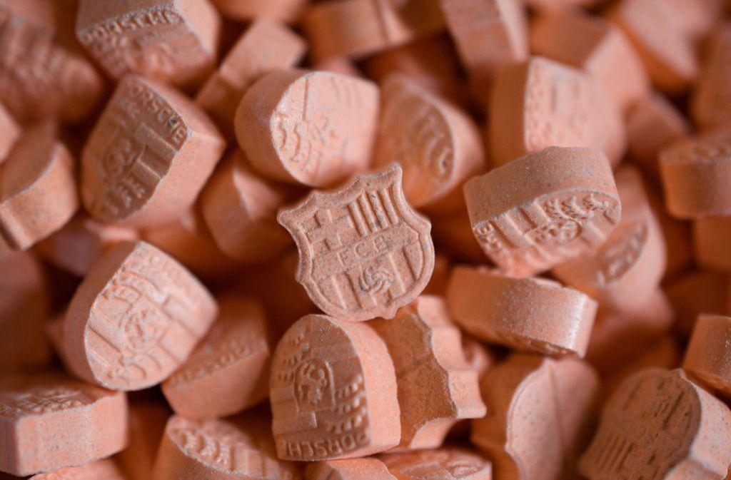 In NRW sind derzeit Ecstasy-Pillen im Umlauf, die extrem gefährlich sind (Symbolbild). Foto: dpa