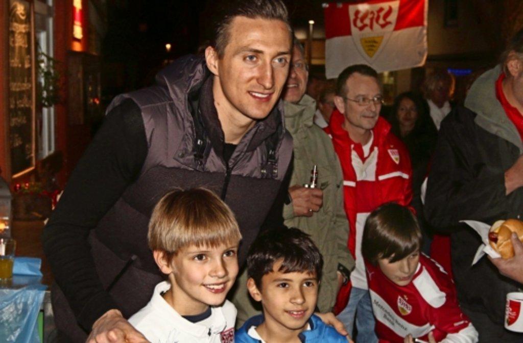 Przemyslaw Tyton: nicht nur bei den jungen Fans hoch im Kurs. Foto: Andreas Gorr