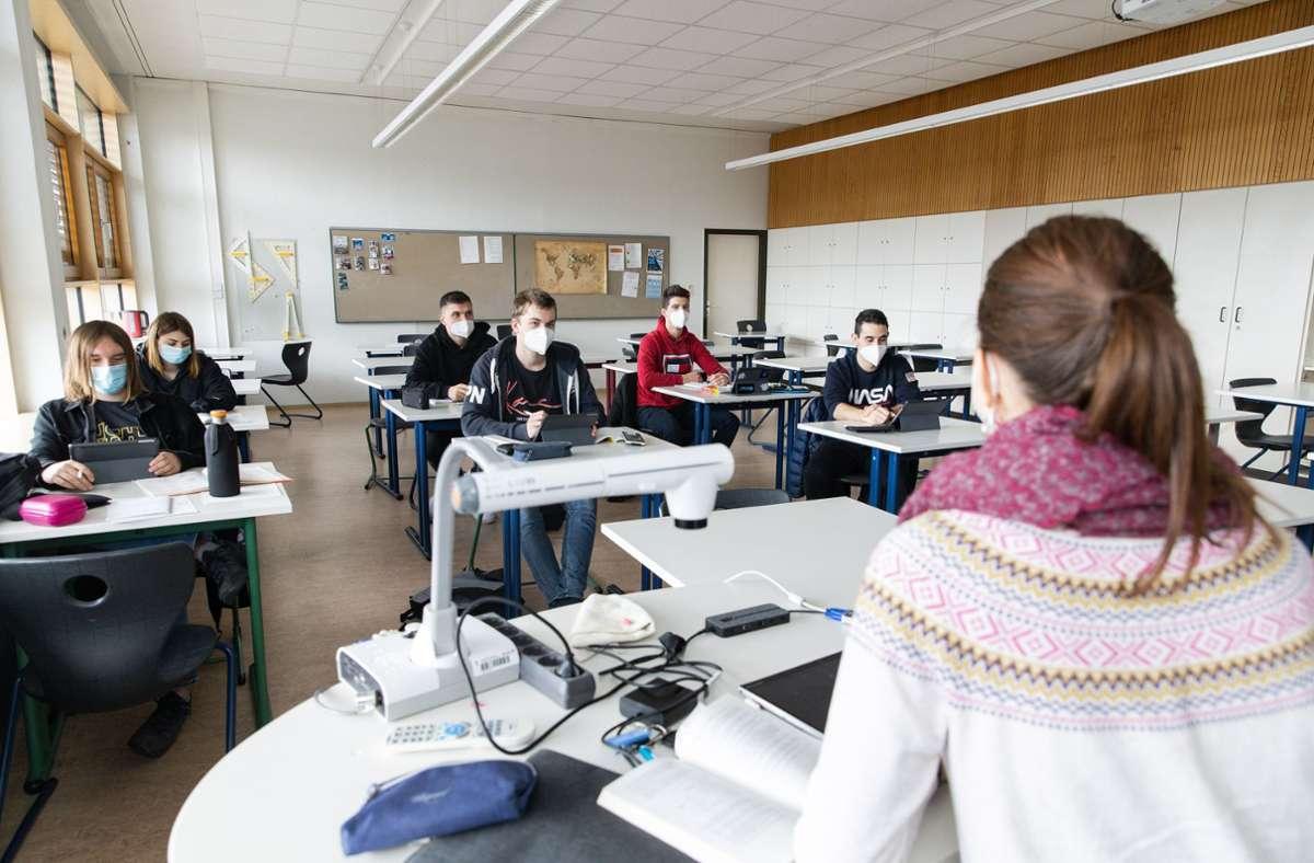 Am Montag startet der Wechselunterricht wieder Foto: Stefanie Schlecht/Stefanie Schlecht