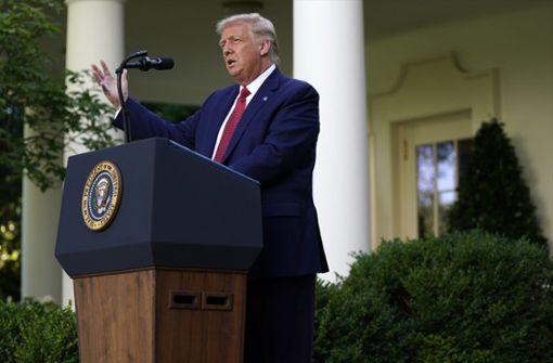 Donald Trump unterzeichnet Sanktionsgesetz gegen China