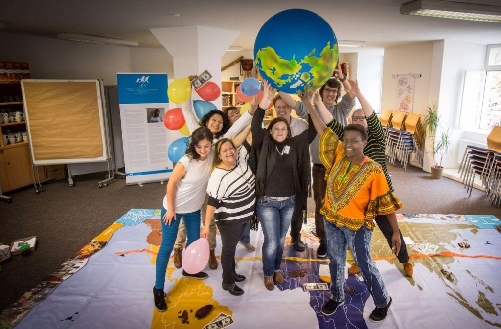 Die ganze Welt im Blick: Das Welthaus setzt sich für ein faires Zusammenleben ein. Foto: Lichtgut/Achim Zweygarth