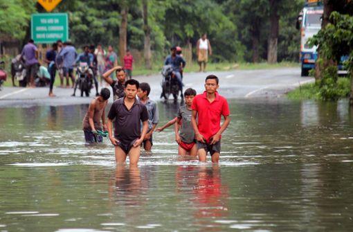 Monsun bedroht seltene Tiere - Immer mehr Menschen sterben