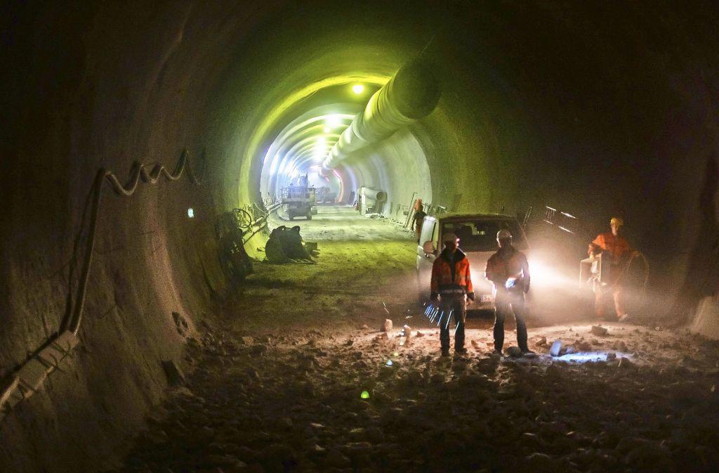 Über Tunnelbau diskutieren Fachleute drei Tage lang auf den Fildern. Foto: Lg/ Kovalenko