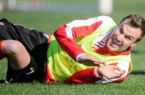 Voller Einsatz für den VfB: Kevin Großkreutz Foto: Baumann