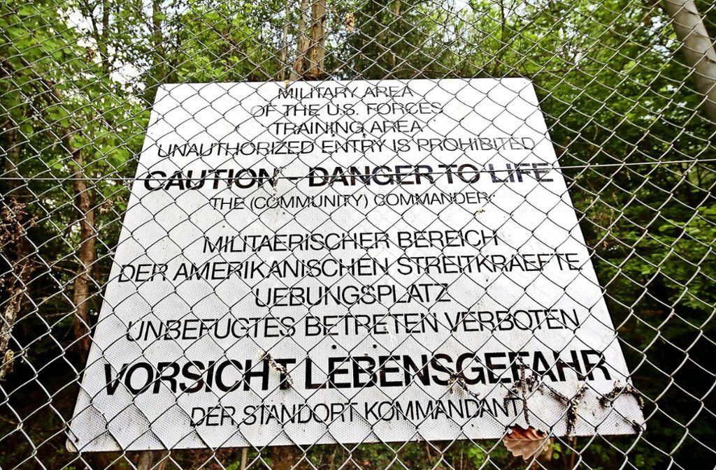 Lebensgefährlich: die Schießübungen der US-Streitkräfte Foto: factum/Granville