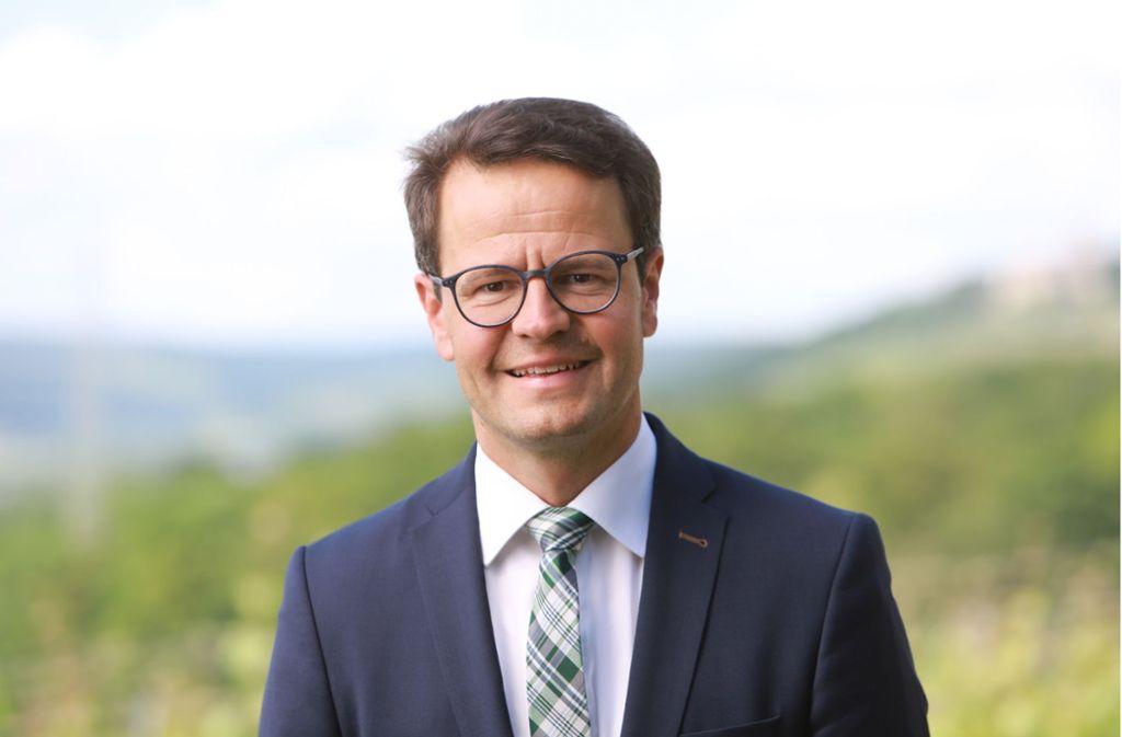 Der 40-jährige Marco Steffens tritt im Dezember das Amt des Oberbürgermeisters an. Foto: privat