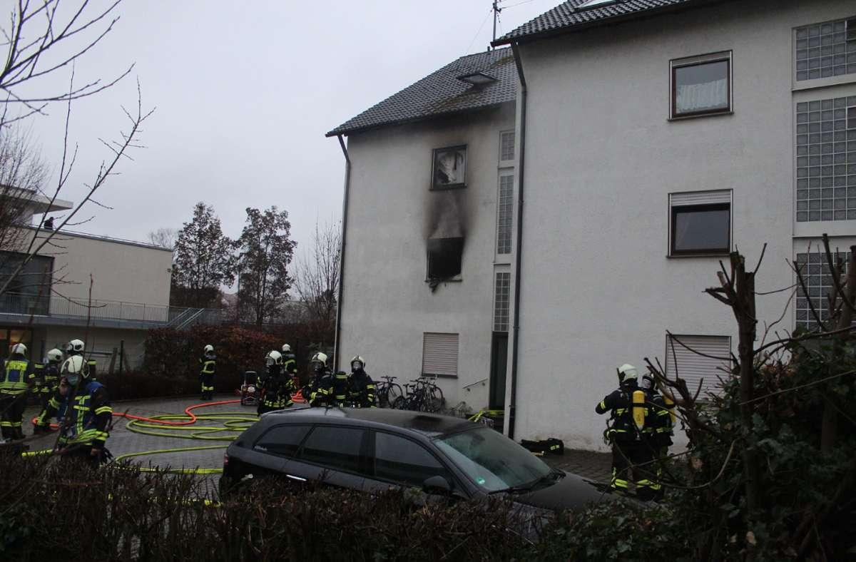 Drei Wohnungen sind nach dem Brand nicht mehr nutzbar. Foto: SDMG