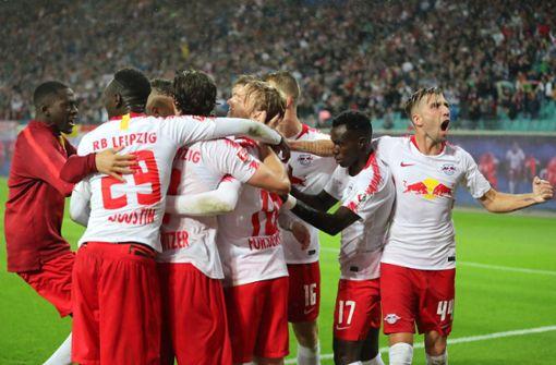 RB Leipzig dank Last-Minute-Sieg in der Gruppenphase