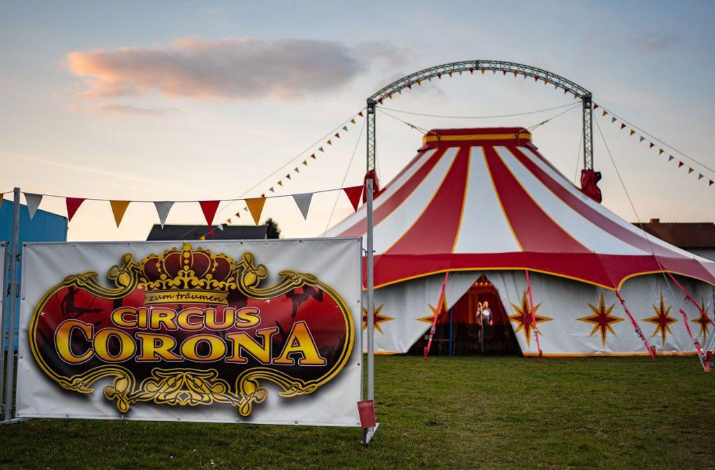 Der Name des Zirkus war Zufall, doch nun wird er der Familie zum Verhängnis. Foto: dpa/Nicolas Armer