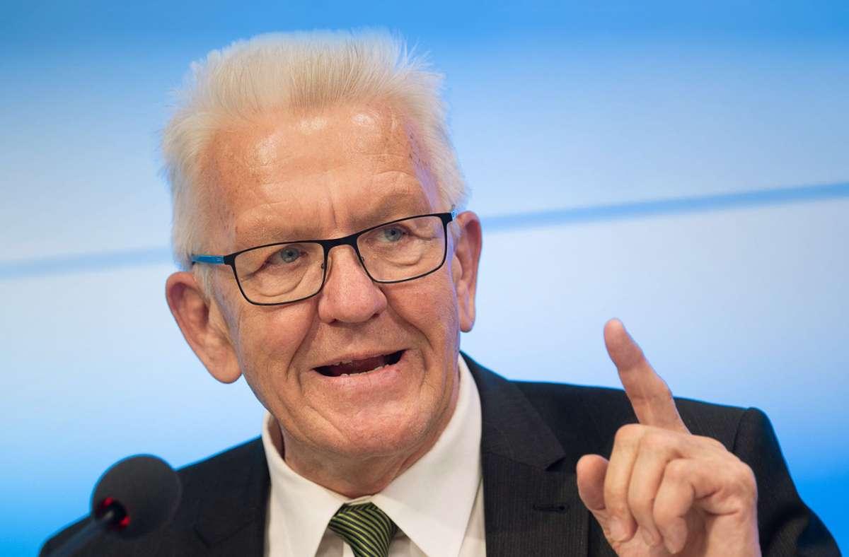 Kretschmann Ministerpräsident
