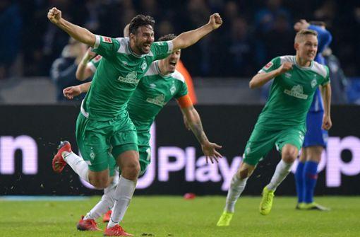 Werder Bremen holt spätes Remis – dank Claudio Pizarro