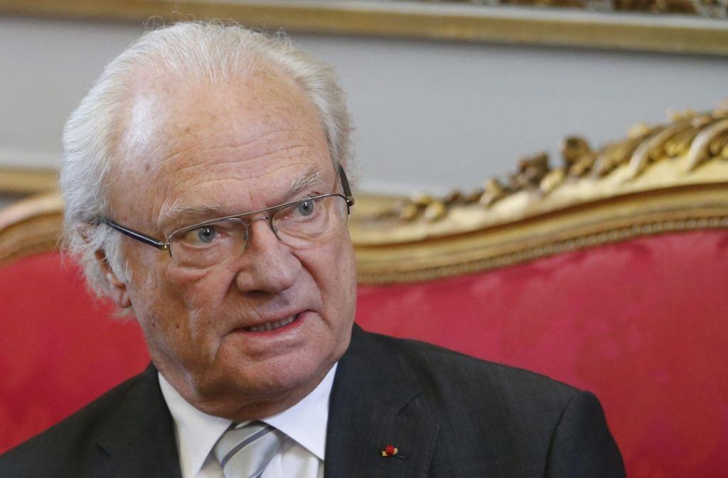 König Carl Gustaf von Schweden wird 70. Foto: dpa