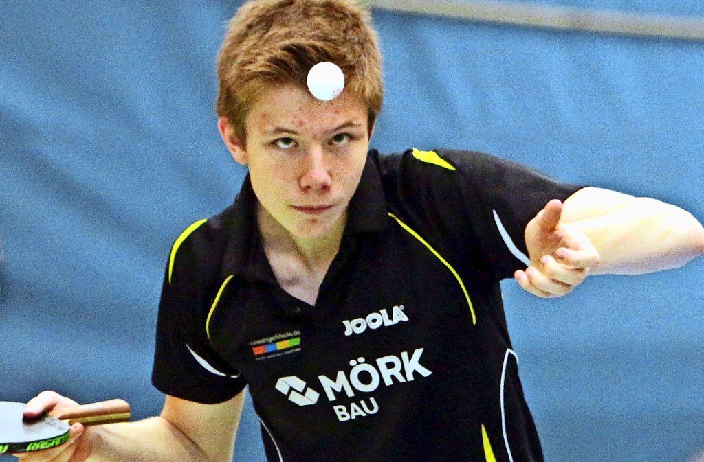 Alexander Schappacher überzeugt in der Altersklasse U18 und wird Fünfter. Foto: Andreas Gorr
