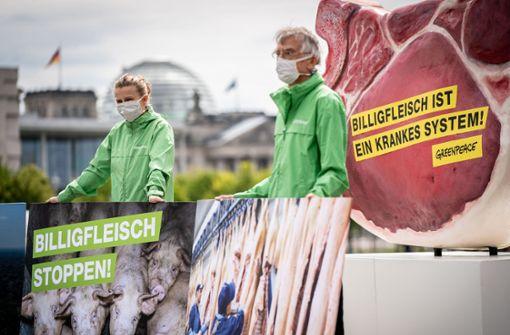 Fleischbranche muss abspecken