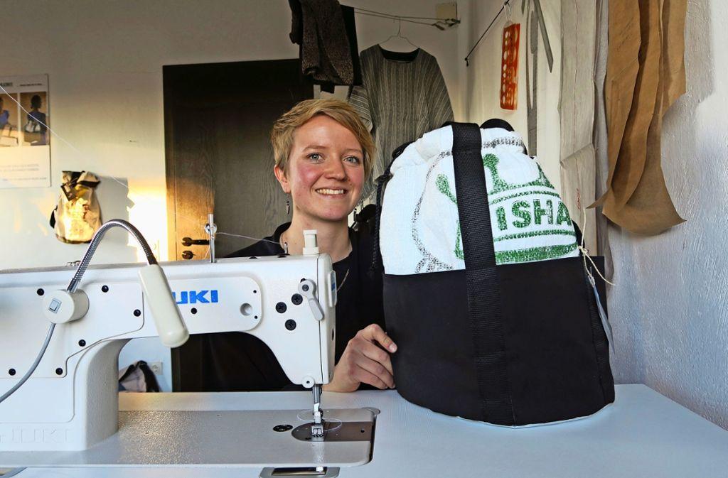 Sarah Müller hatte nie geplant, ein Modelabel zu gründen, das Europa und Afrika verbindet. Foto: Klein