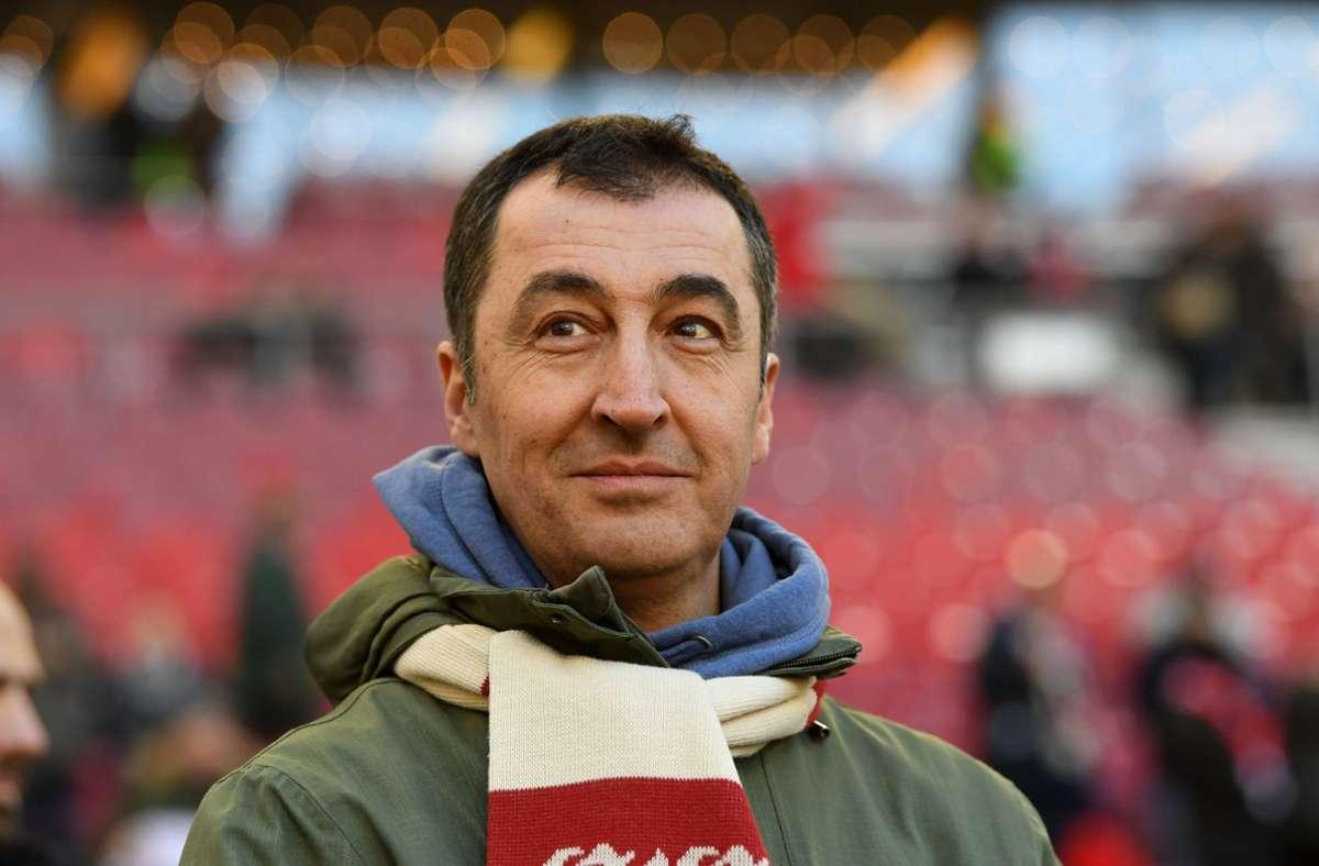 Cem Özdemir ist langjähriger VfB-Fan Foto: dpa/Marijan Murat