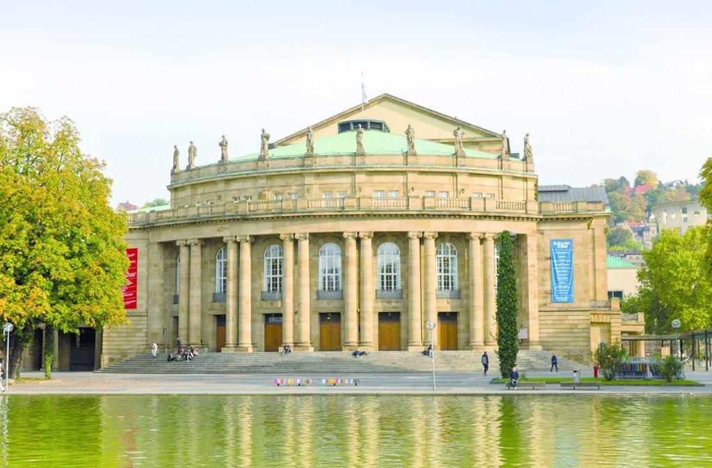 Die Sanierung des Stuttgarter Opernhauses sollJahre dauern. Land und Stadt könnte das eine Milliarde Euro kosten. Foto: Stuttgart Marketing/Achim Mende